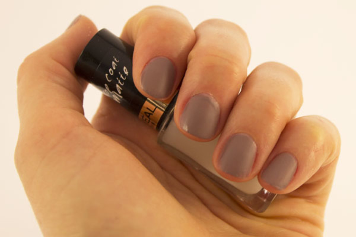 L'Oreal Paris Colour Riche Top Coat in Matte
