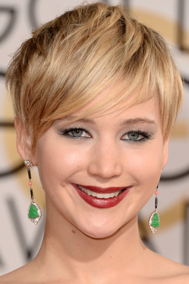 Jennifer Lawrence, Golden Globes Awards, 2014