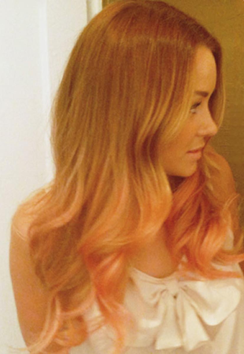 Lauren-Conrad-peach-hair