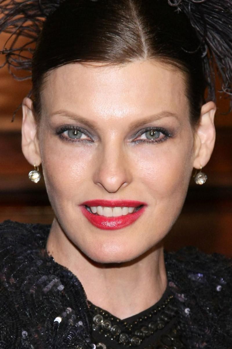 Linda Evangelista, Lycee Francais New York gala, 2012