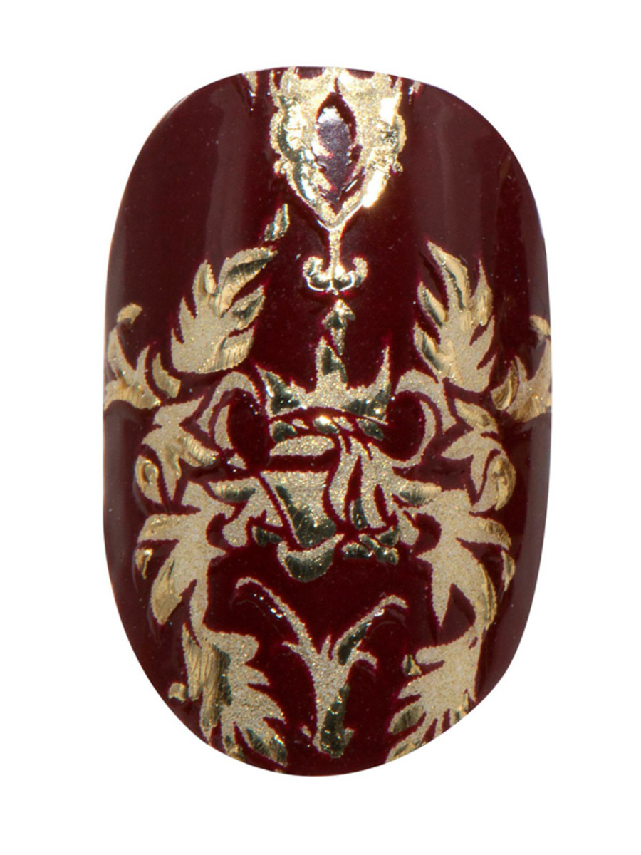 Revlon by Marchesa 3D Jewel Appliques in Royal Burgundy