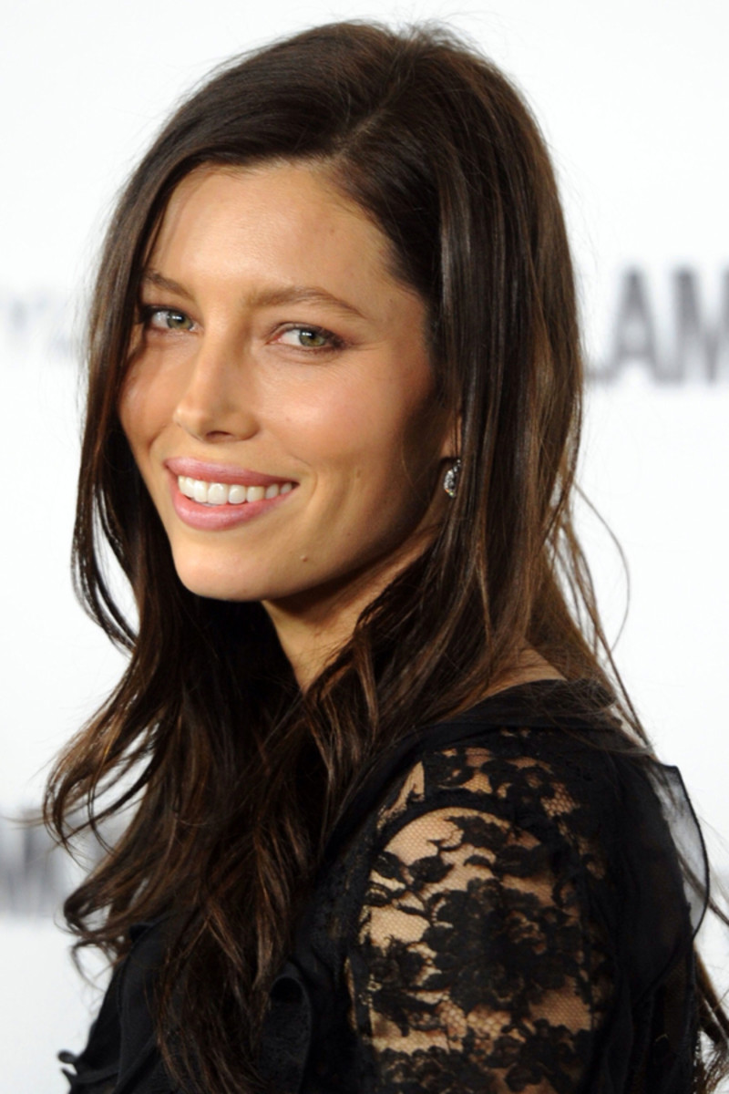 Jessica Biel Balayage Highlights Jessica Biel Hair
