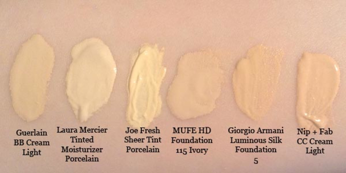 Best neutral foundations swatches