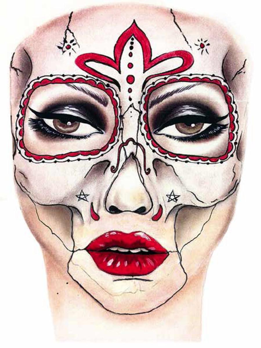 Skull Candy Halloween look