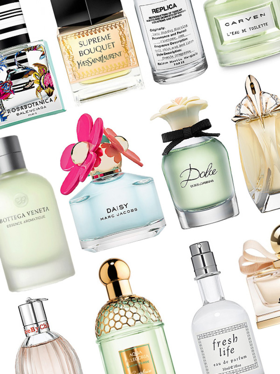 Best spring fragrances 2014