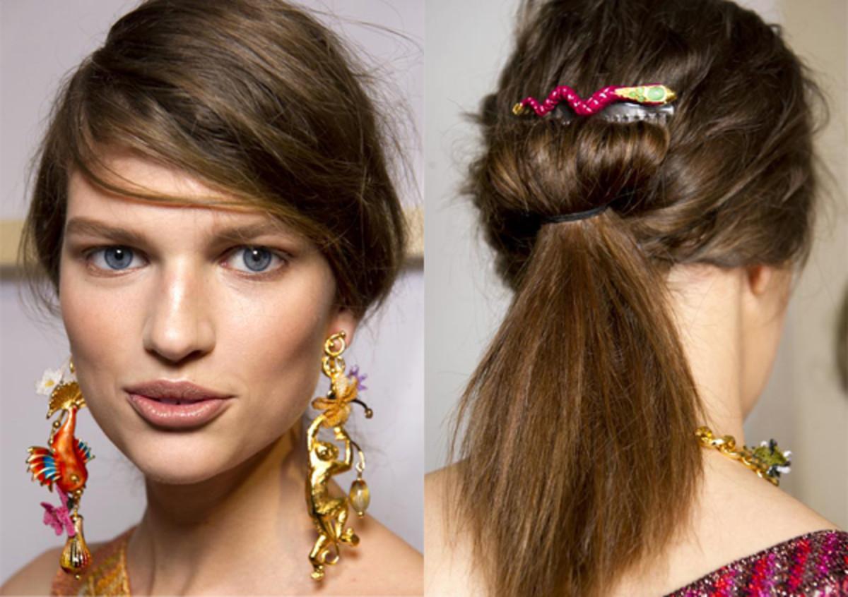 Missoni - Spring 2012 hair