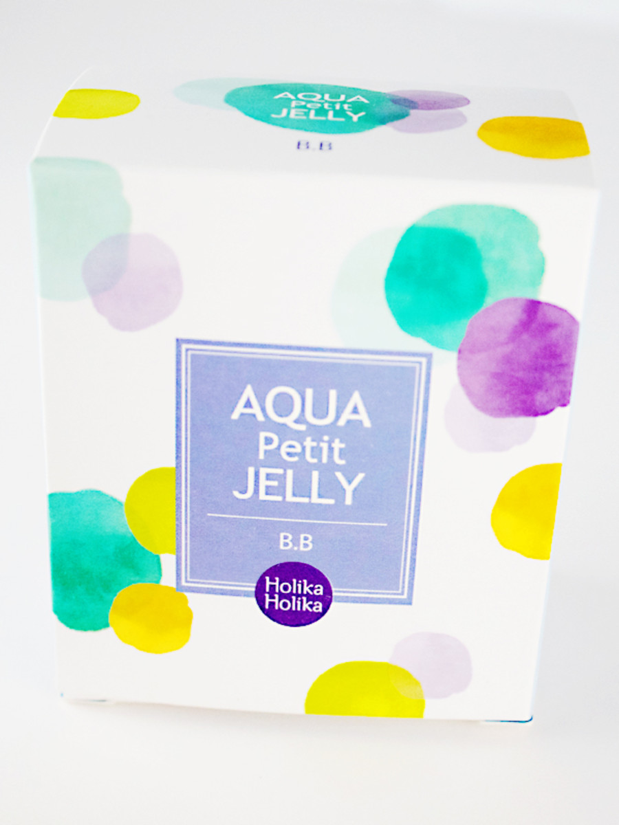 Holika Holika Aqua Petit Jelly BB Cream (packaging)