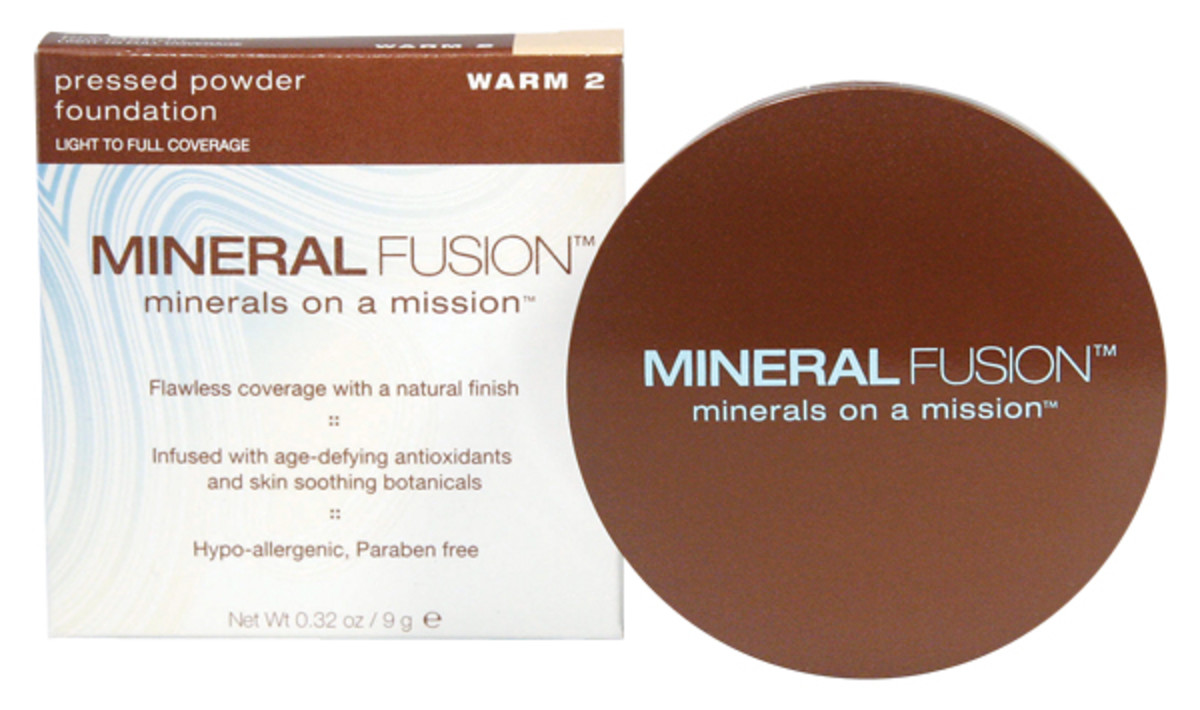Mineral Fusion Minerals on a Mission Pressed Powder Foundation