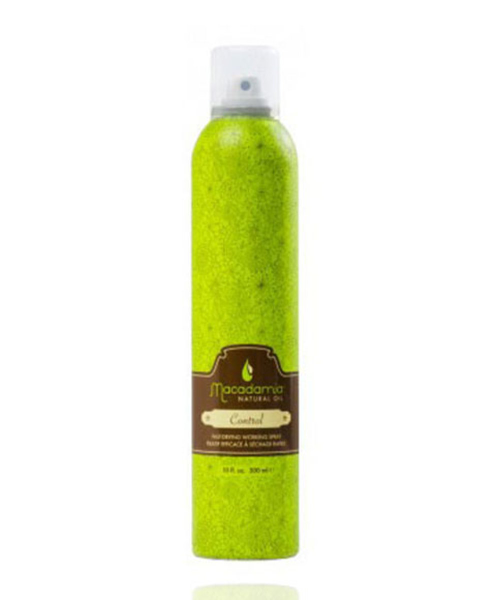 Macadamia Natural Oil Control Fast-Drying Working Spray