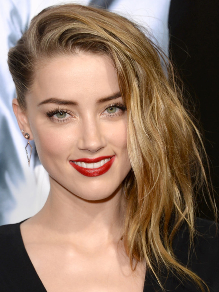 Amber Heard Fakes An Undercut And Looks Super Gorgeous