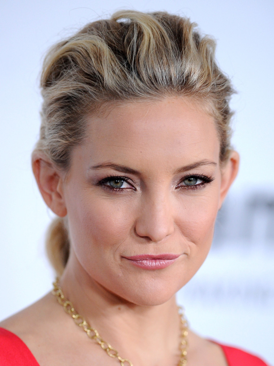Kate Hudson beauty tips - amfAR gala, 2012