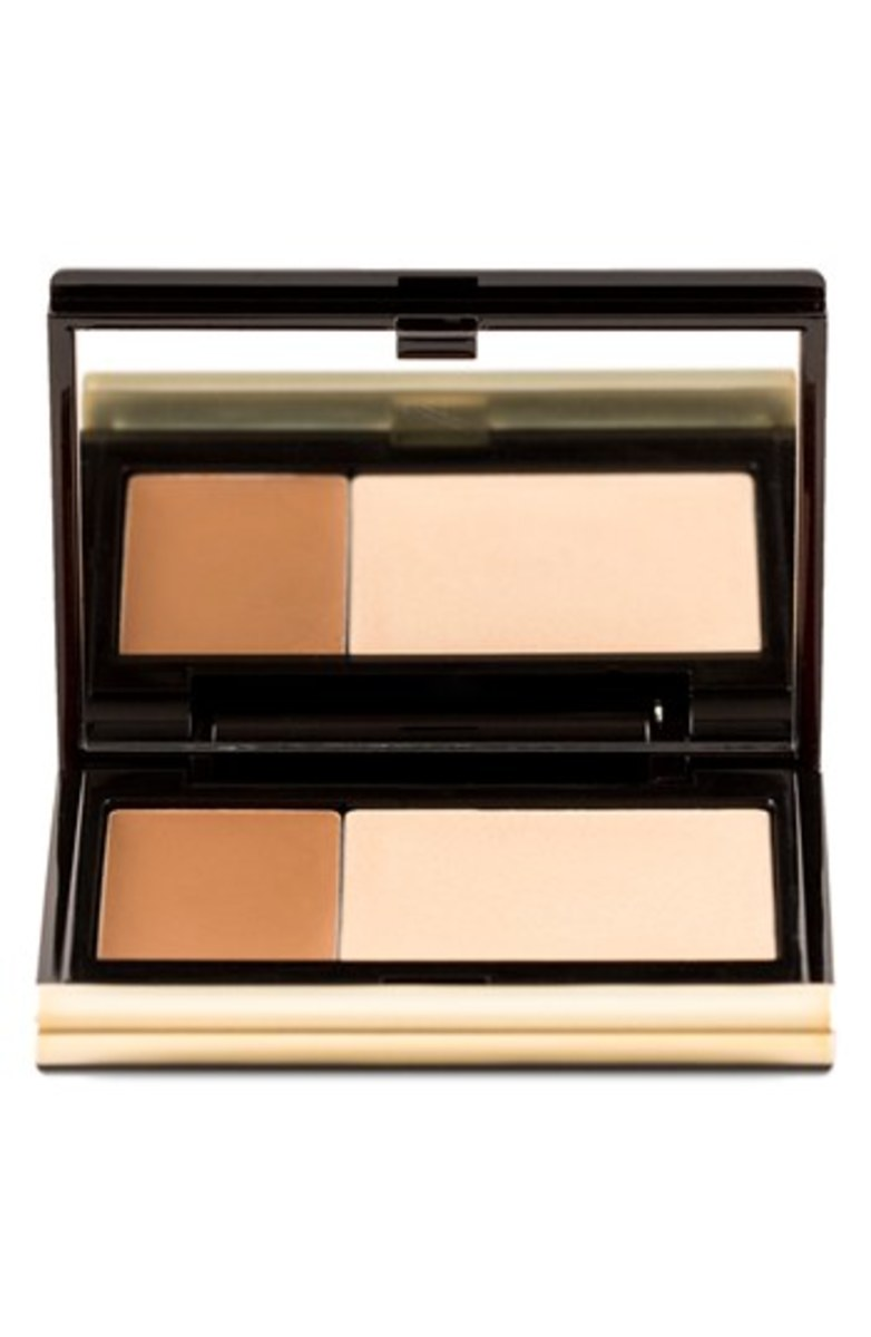 Kevyn Aucoin The Creamy Glow Lip & Cheek Palette in Candlelight
