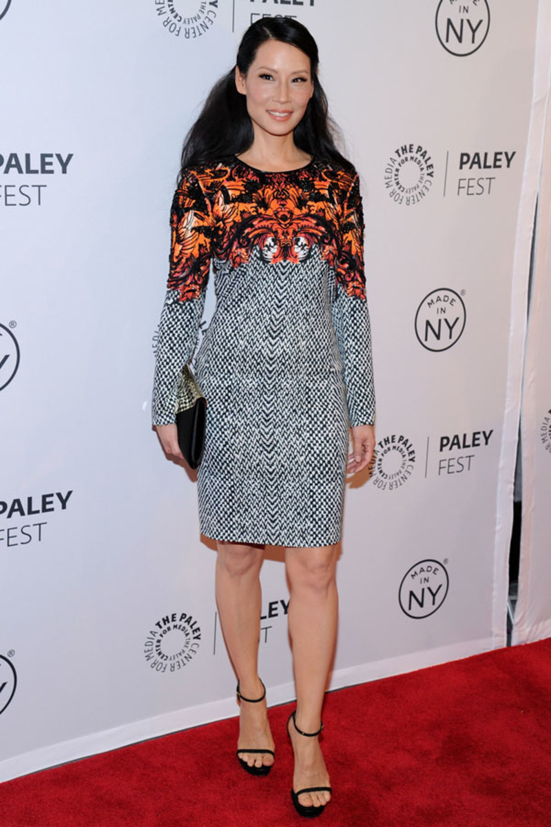 Lucy Liu hair - Paleyfest 2013 (5)