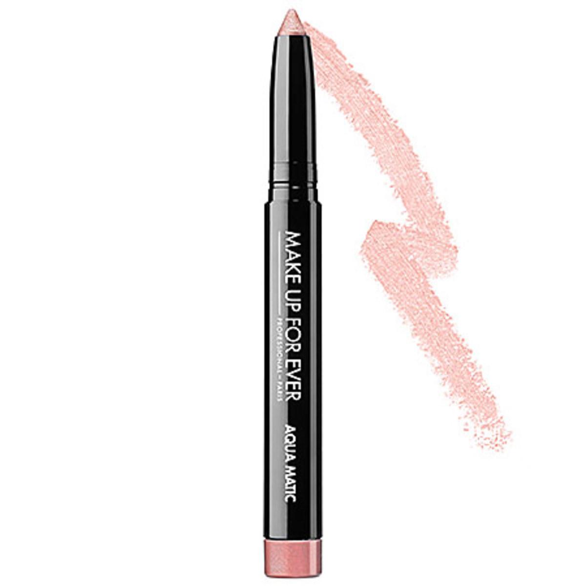 Make Up For Ever Aqua Matic in Metallic Pinky Beige