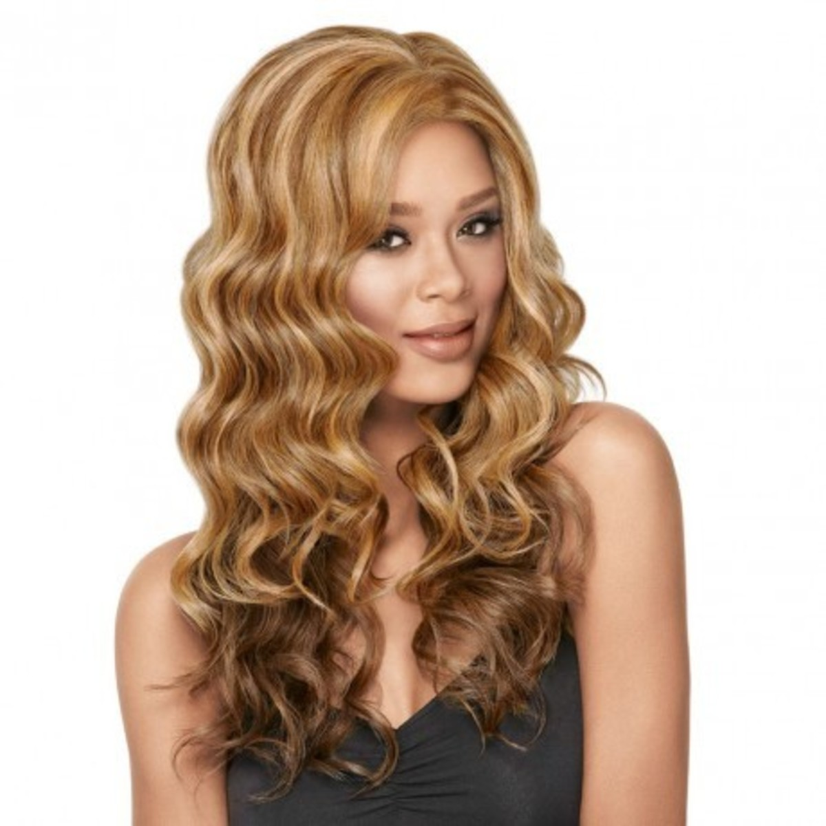 Luxhair Now Lace Front Goddess Waves - blonde
