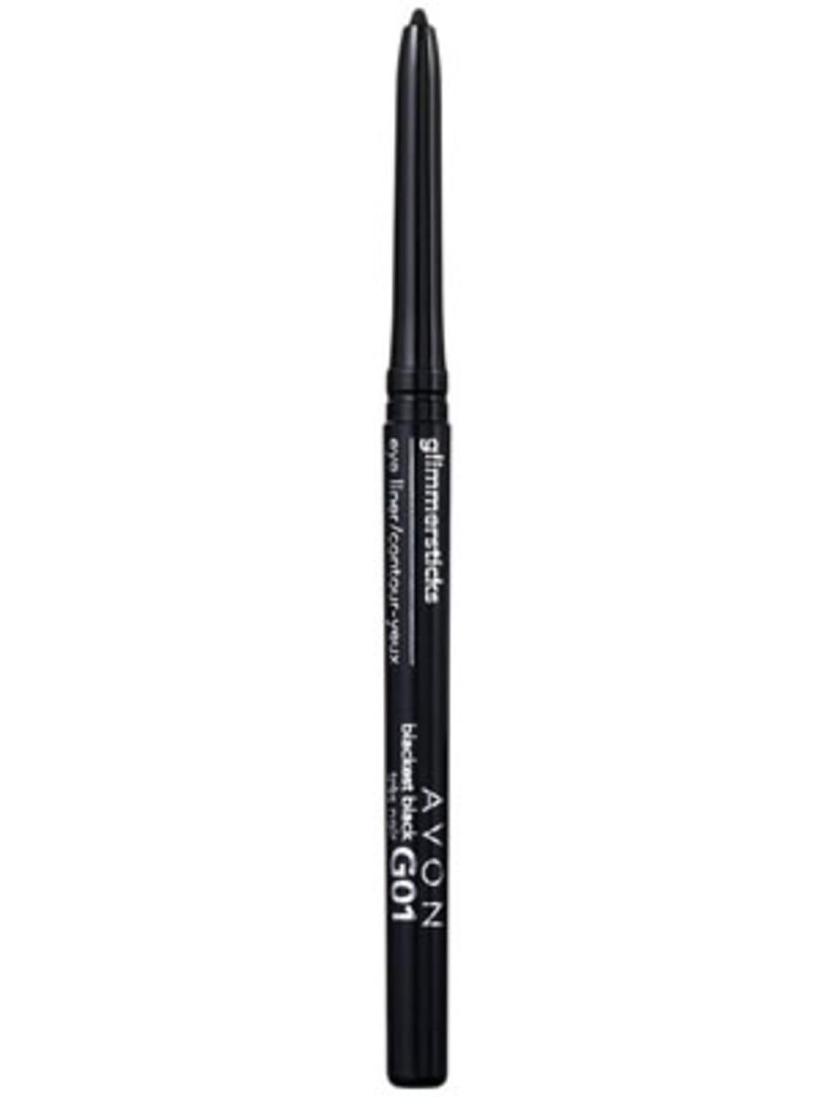 Avon Glimmersticks Eye Liner in Blackest Black