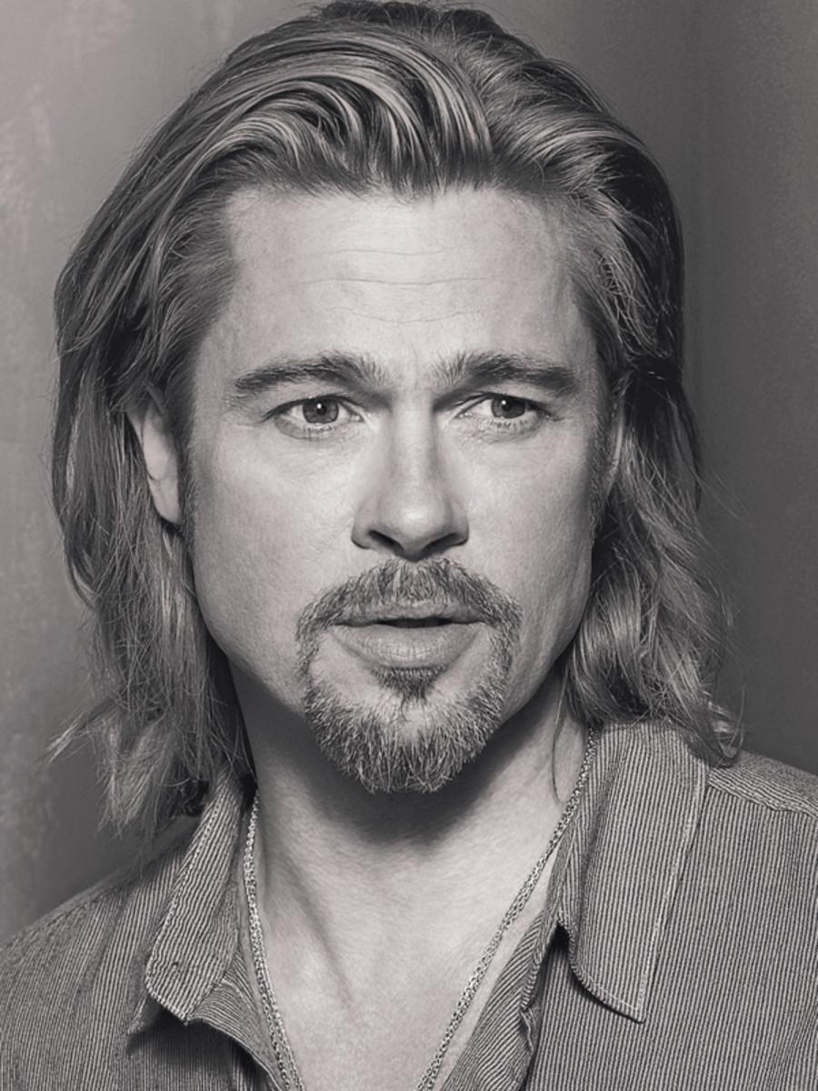 Brad Pitt - Chanel No. 5 ad visual