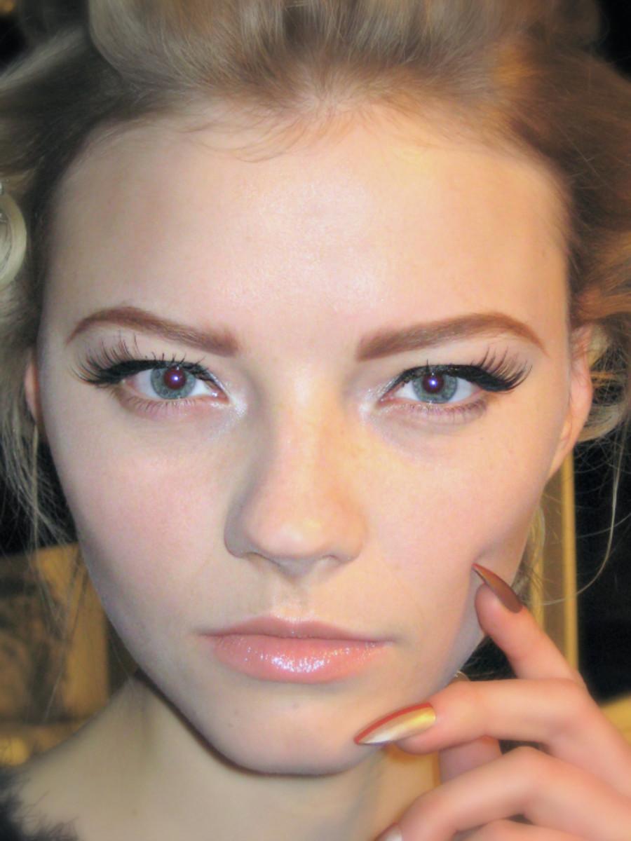 Vawk - Spring 2013 makeup