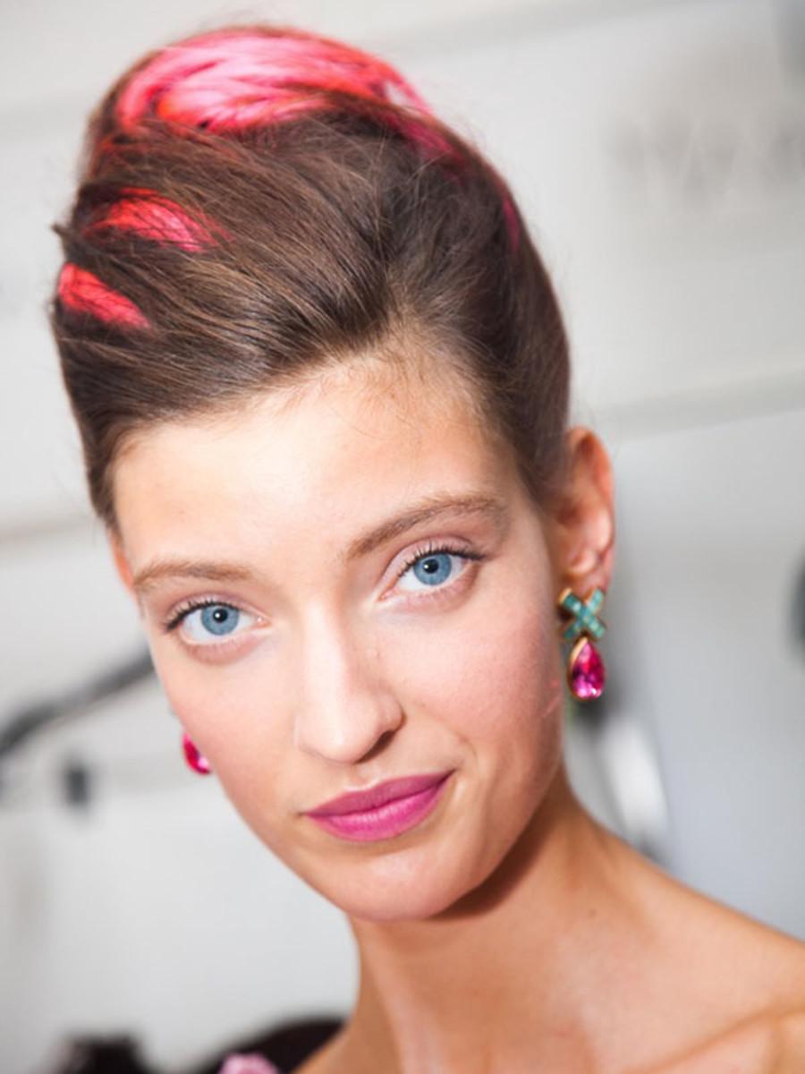 Oscar de la Renta - Spring 2013 hair
