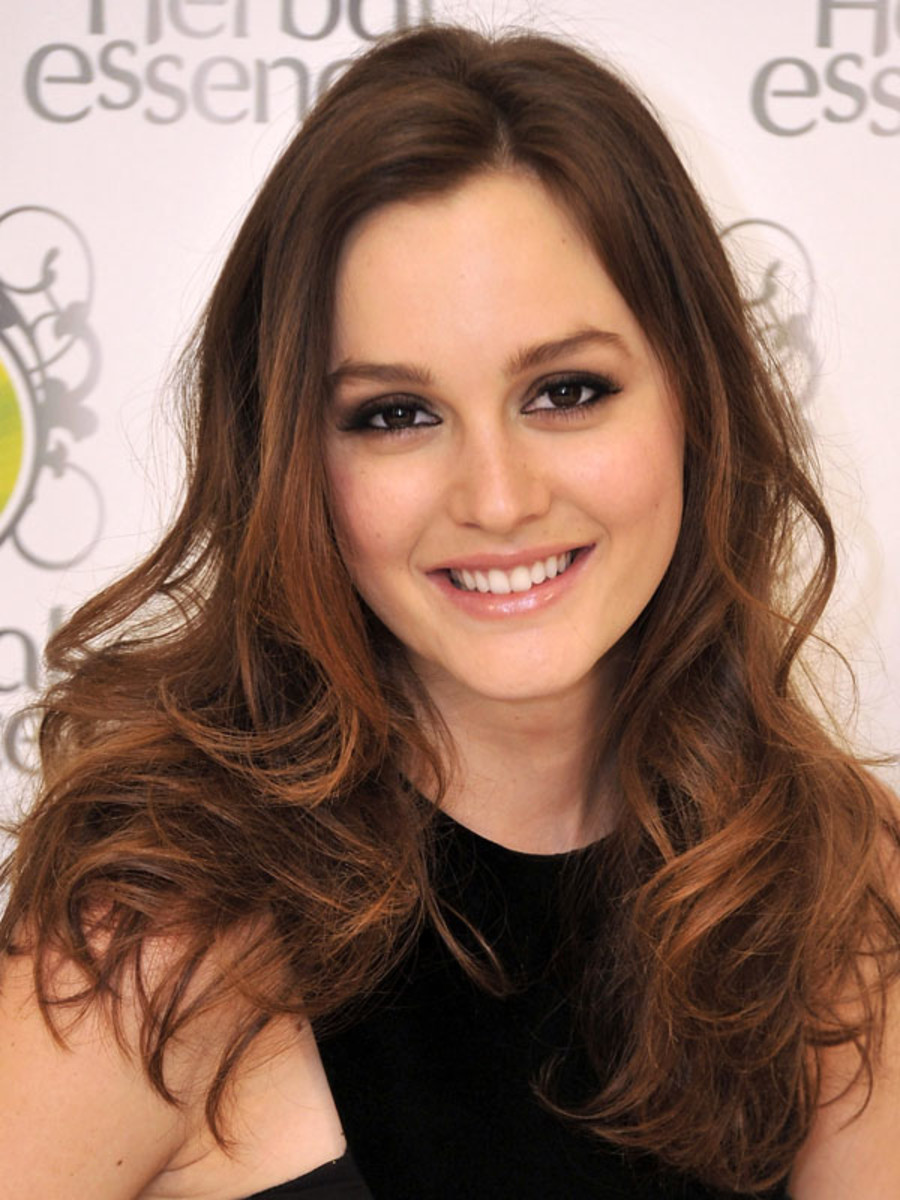 Leighton Meester S 10 Best Hair And Makeup Looks