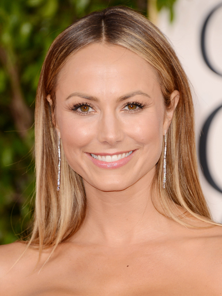Golden Globes 2013 Stacy Keiblers Radiant Skin
