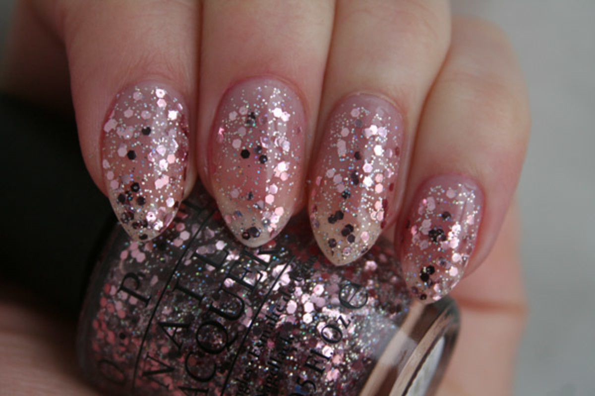 OPI Spotlight on Glitter - You Pink Too Much