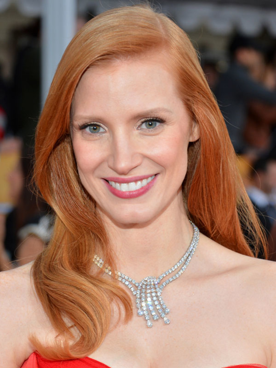 Jessica Chastain - SAG Awards 2013 beauty