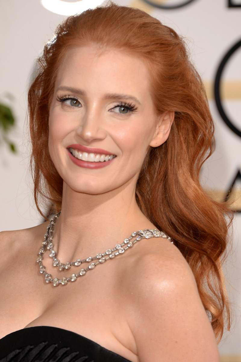 Jessica Chastain, Golden Globes Awards, 2014 (3)