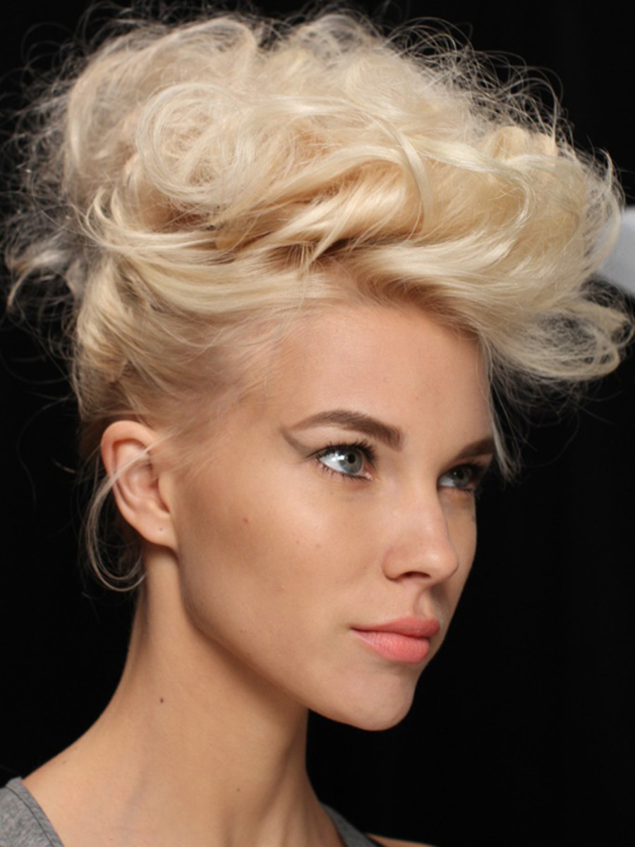 Badgley Mischka - Spring 2012 hair
