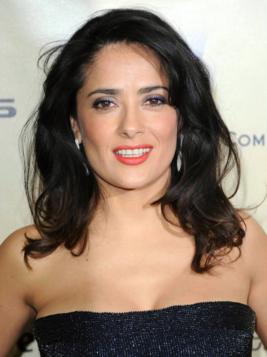 Salma Hayek - Golden Globe Awards 2013 makeup