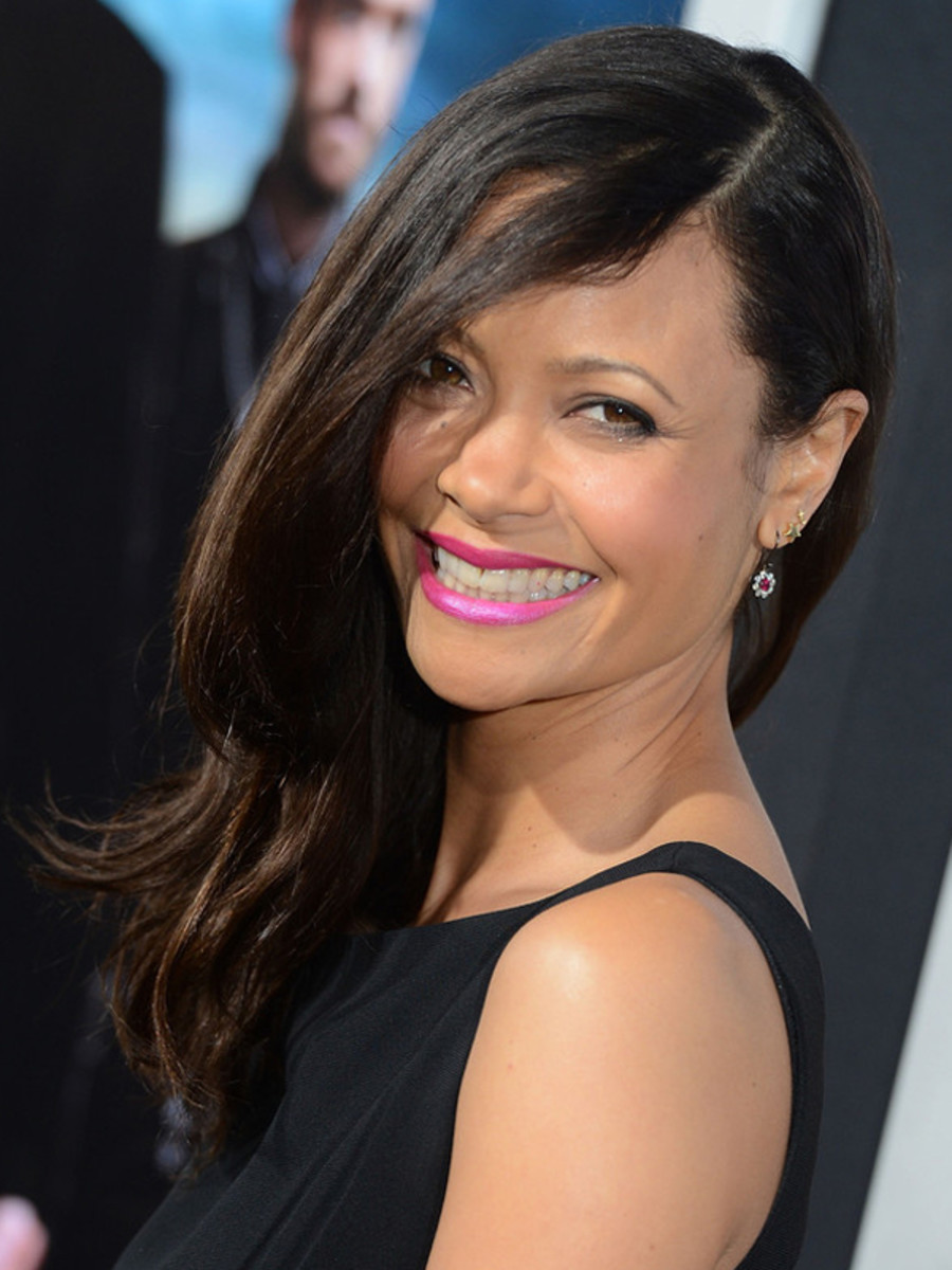 Thandie Newton - Rogue premiere, Los Angeles, March 2013