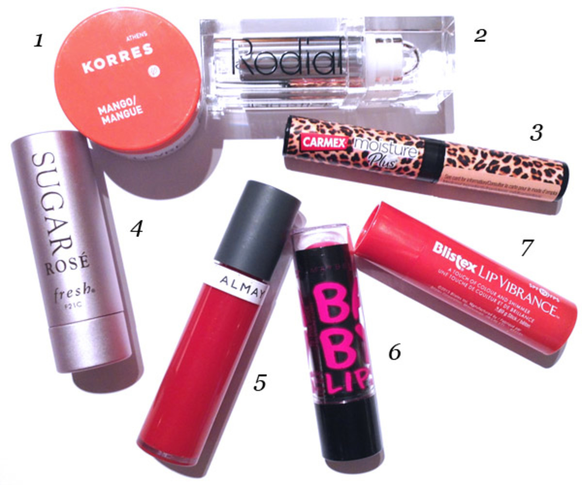 Best winter makeup products (lips)