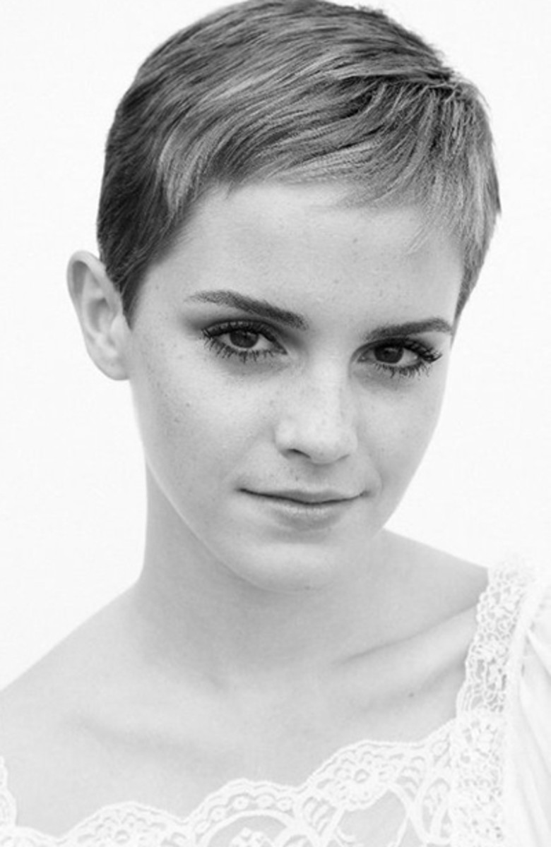 Emma Watson Just Got a Short Pixie Haircut - Beautyeditor