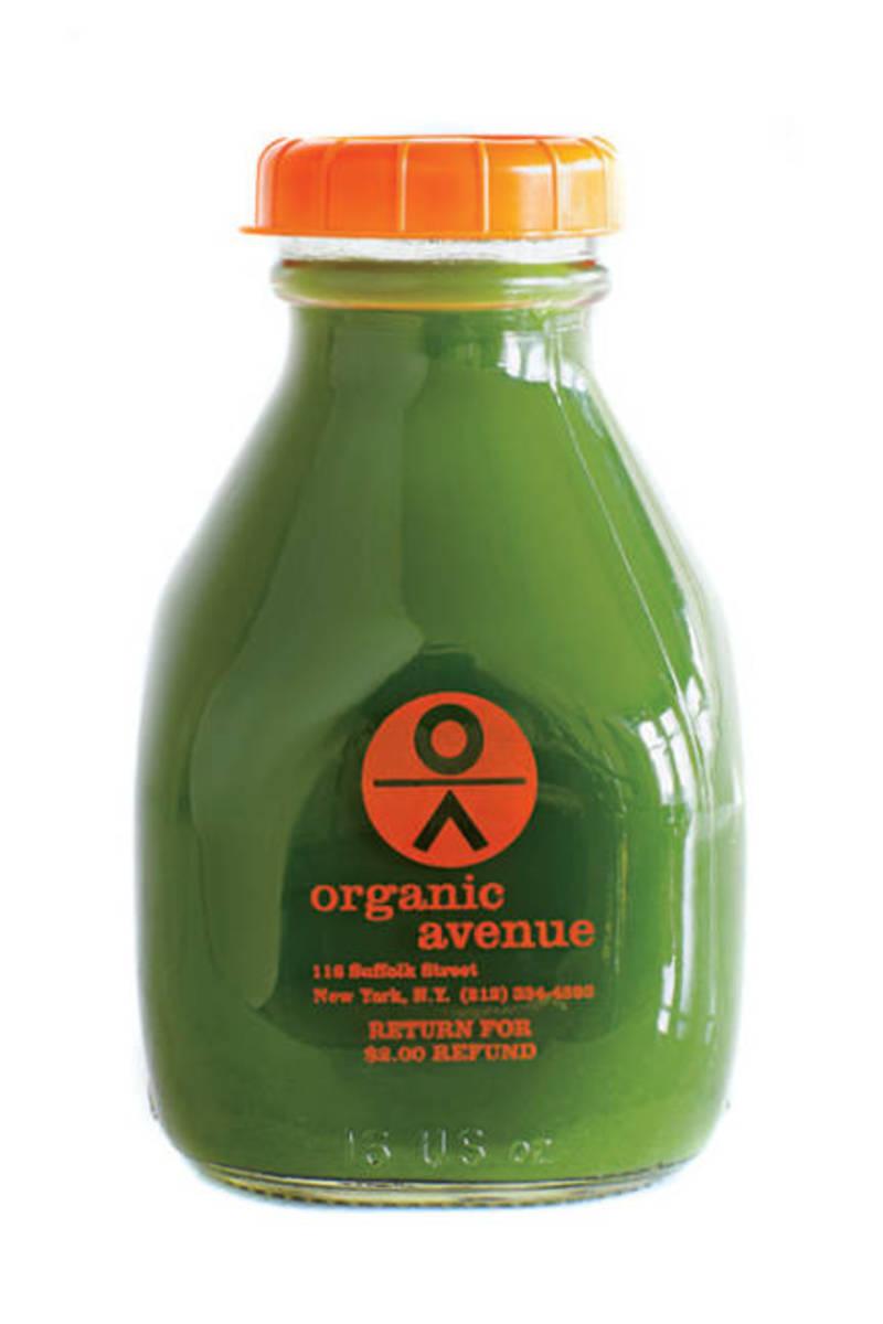 Organic Avenue green juice