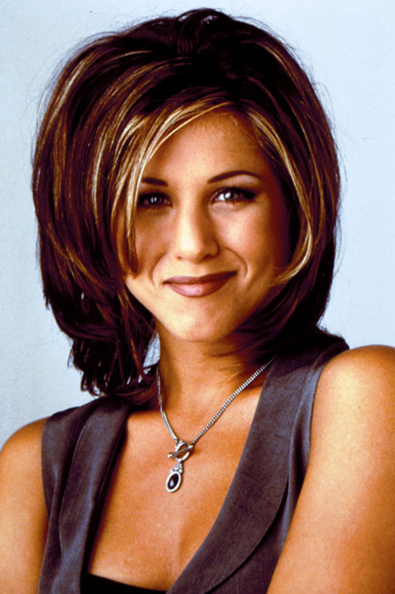 Jennifer Aniston 90s makeup