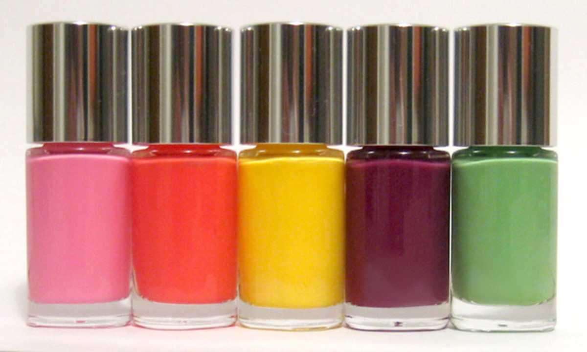 Clinique Sensitive Nail Polish - summer 2013 collection