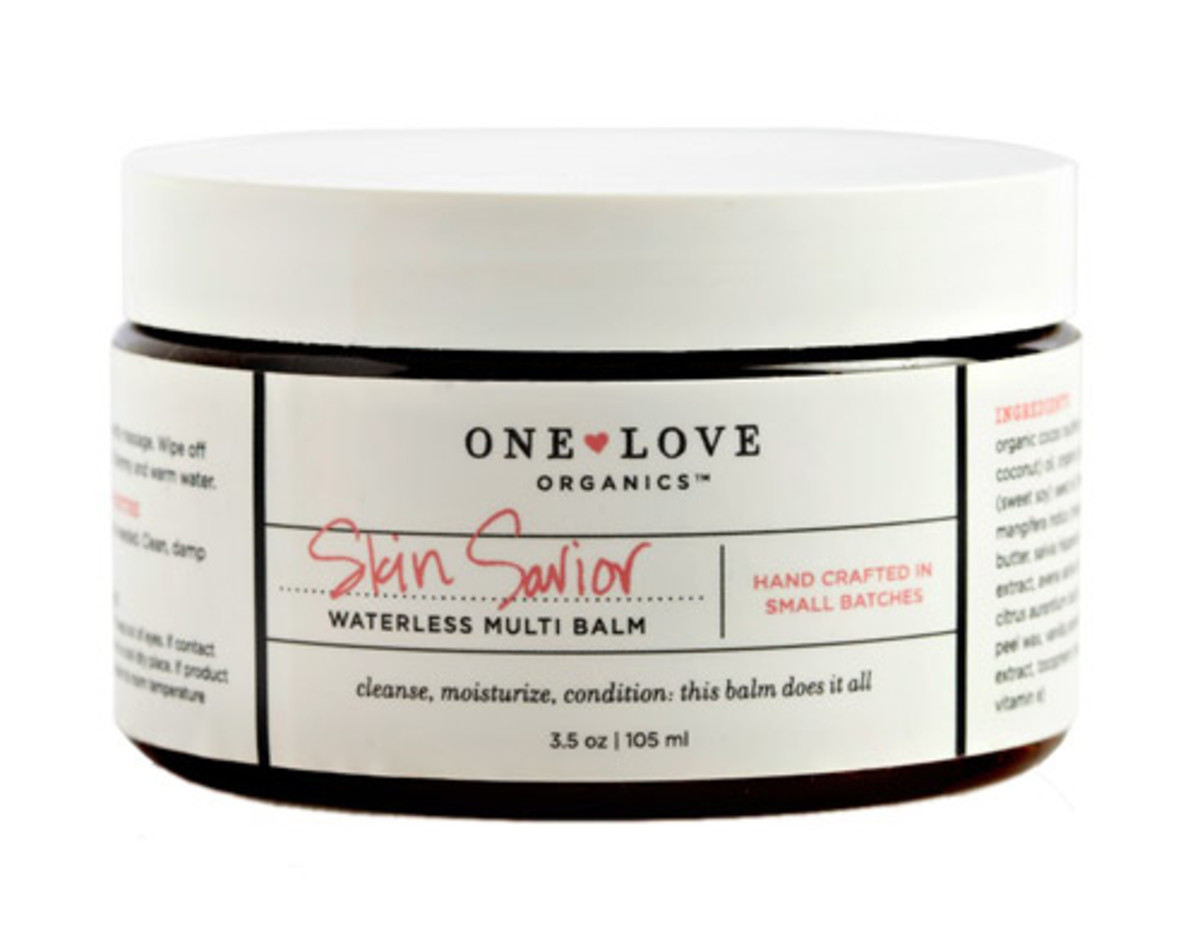 One Love Organics Skin Savior Waterless Multi Balm