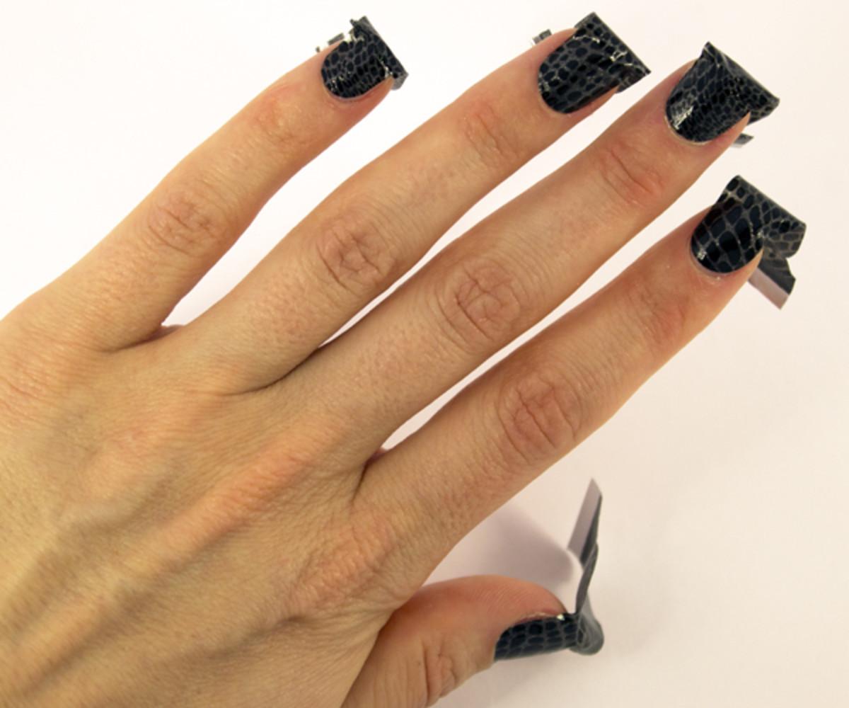 Sally Hansen InstaGel Strips - Step 3a