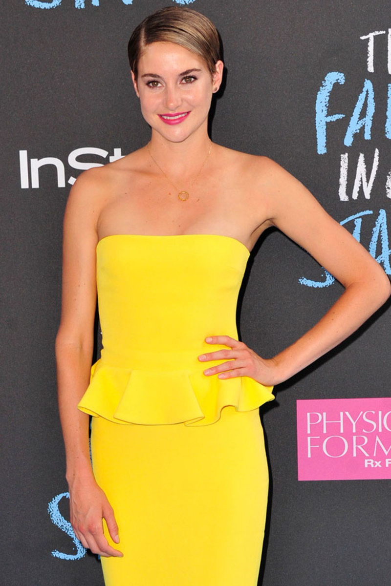 Shailene Woodley, The Fault In Our Stars premiere, 2014 (3)