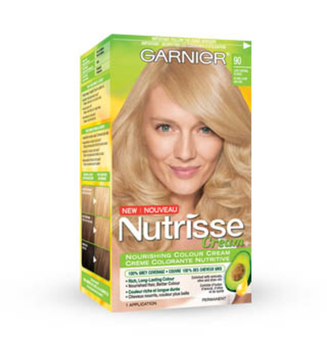 How to go blonde at home beautyeditor garnier nutrisse nourishing colour cream solutioingenieria Gallery