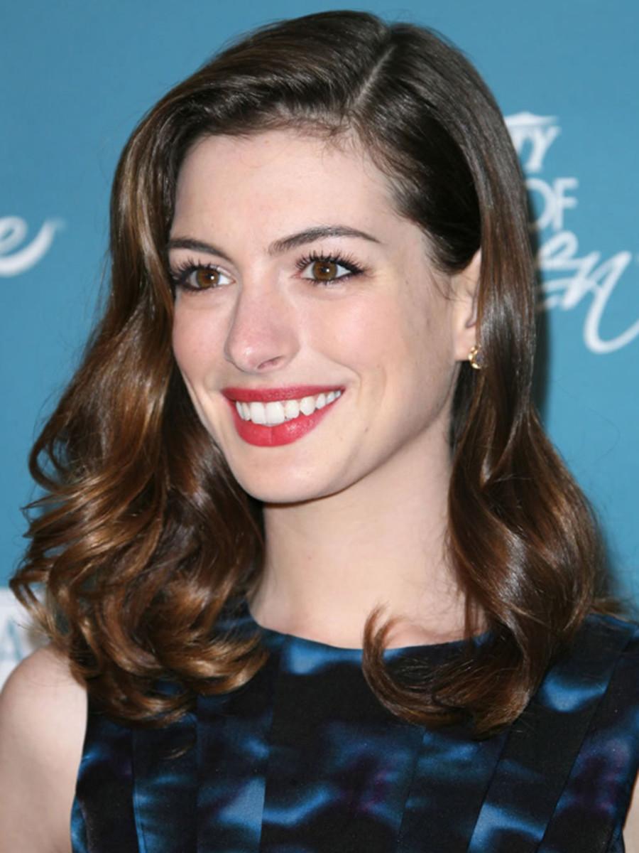 Anne Hathaway - Power of Women Luncheon, 2010