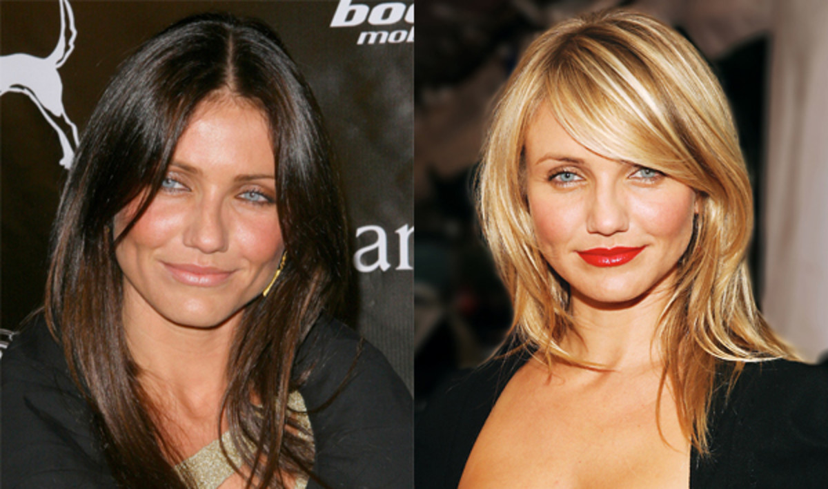 Cameron-Diaz-brunette-and-blonde-hair