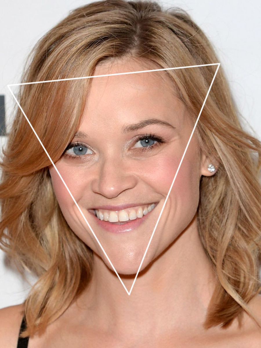 Do You Have A Face Shaped Like An Inverted Triangle