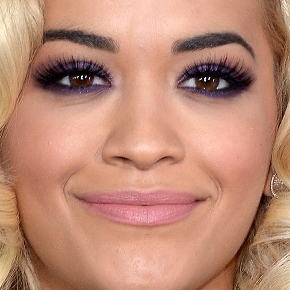 Rita Ora, Grammys 2014 makeup (2)