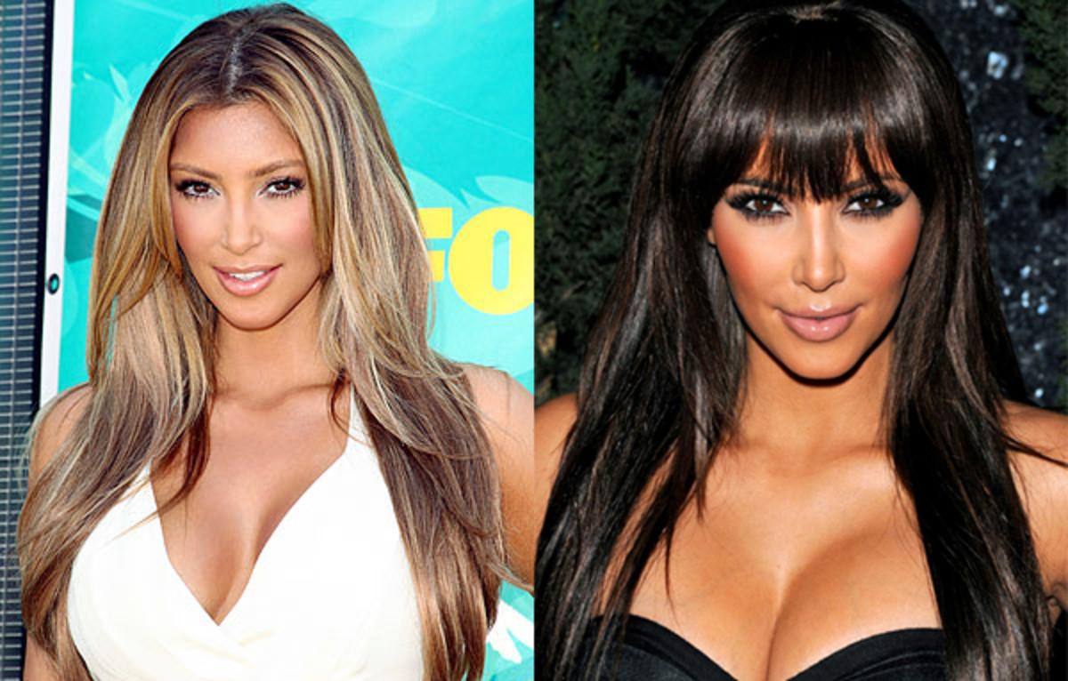 Kim-Kardashian-blonde-and-brunette-hair