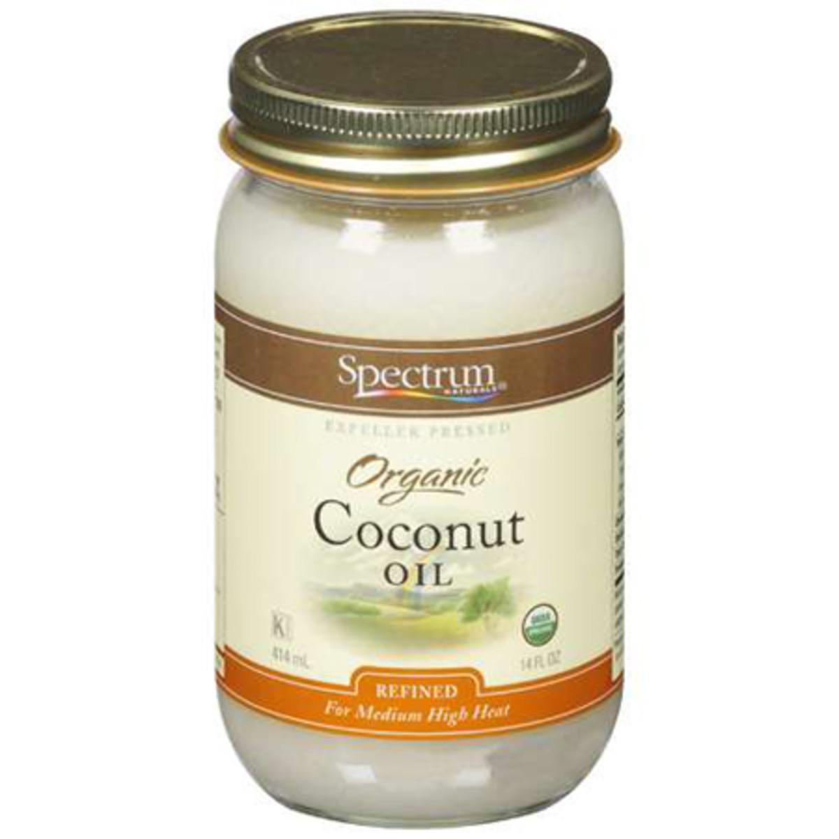 Spectrum Naturals Coconut Oil