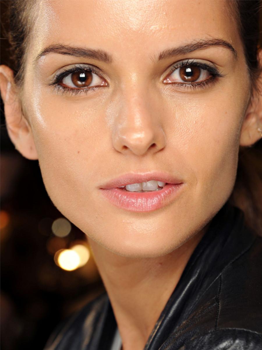 Balmain - Spring 2012 makeup