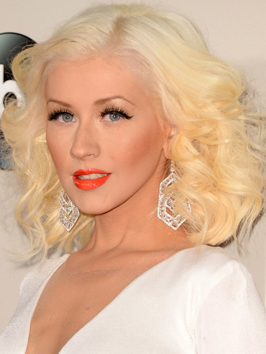 Christina Aguilera, American Music Awards, 2013
