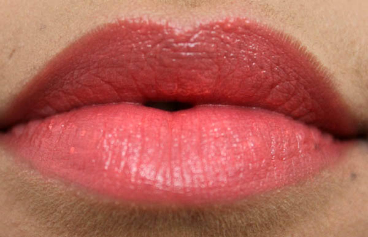 Topshop Lipstick in Ohh La La (2)