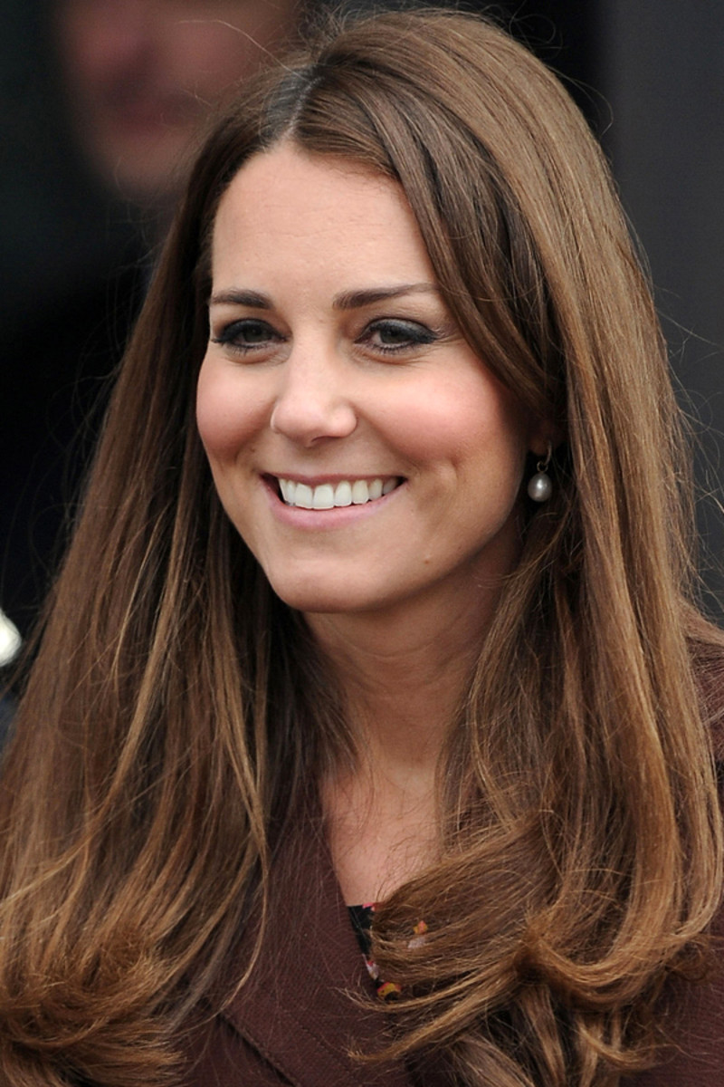 Kate Middleton, medium brown hair (3)